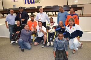 O atletismo PCD (Pessoa com Deficiência) é sempre esperança de bons resultados para Itu.