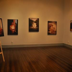 Reproduções de algumas obras de Almeida Junior podem ser visitadas na Casa da Praça