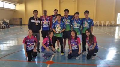 Equipe ituana de tênis de mesa, que representou a cidade nos Jogos Regionais 2015.