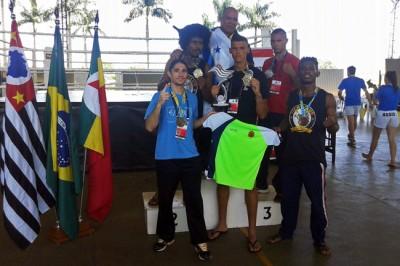 Equipe ituana de Kickboxing, campeã dos Jogos Abertos do Interior;