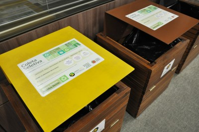 Gincana mostra a importância do descarte correto do lixo