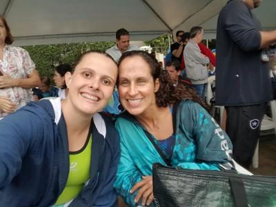 Mirella e Simone (respectivamente), representantes de Itu na competição nacional.