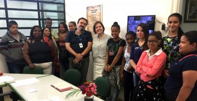 Jovens do curso preparatório para o mercado de trabalho visitam Regional do Pirapitingui