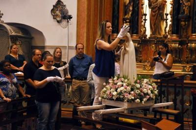 Chegada da Imagem Peregrina de Nossa Senhora de Fátima a Itu, Igreja Matriz