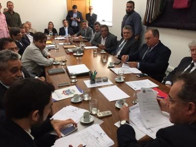 A reunião contou com prefeitos de diversas cidades paulistas, filiados ao PTB