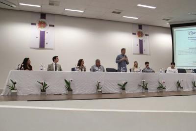 Prefeito Guilherme Gazzola destacou a importância da atualização dos profissionais da saúde