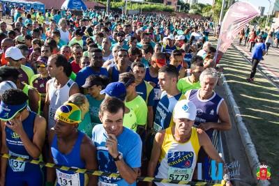 A 33ª Volta Pedestre contou com 2.500 inscritos atletas inscritos