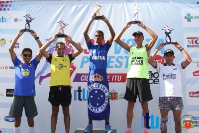 Sergio Celestino da Silva foi o 1º colocado na prova de 10km masculino