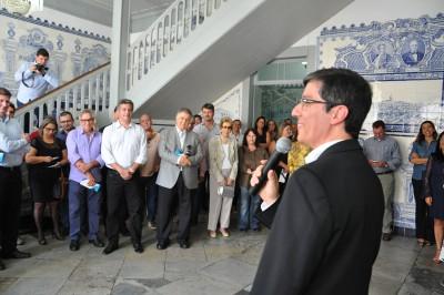 O secretário municipal de Educação, Walmir Scaravelli, é o presidente de honra da nova instituição
