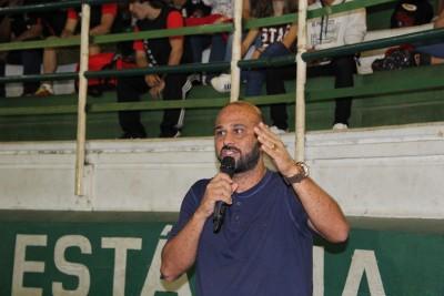 Secretário municipal de Esportes participou da abertura do evento