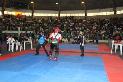 Ginásio Prudente de Moraes ficou lotado durante a competição